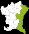 Gefiltert Region (W)